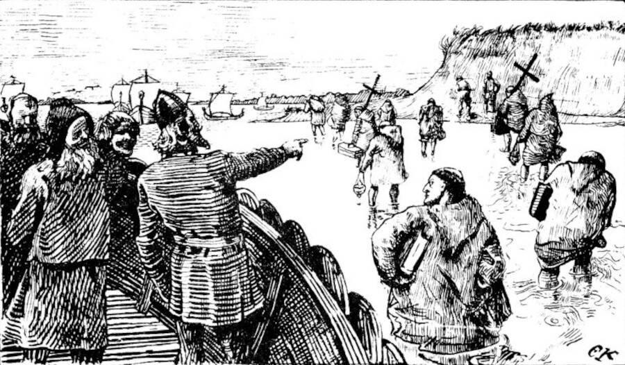 Viking Expulsion Of Christians