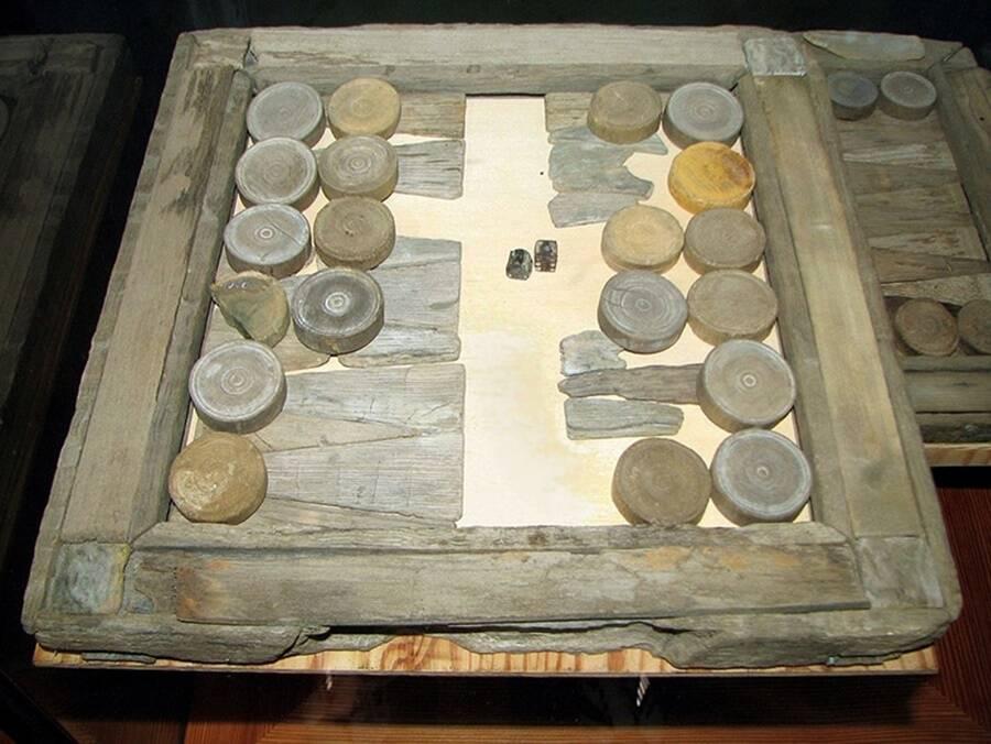 Backgammon Board From Vasa Ship