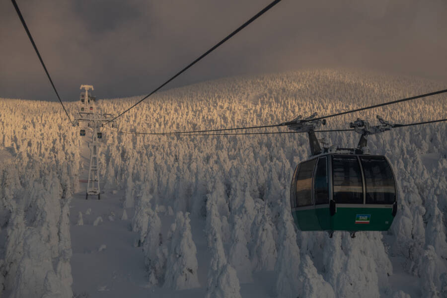 Cable Car Over Juhyo