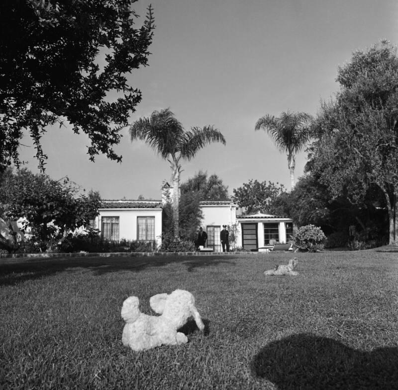Exterior Marilyn Monroe House