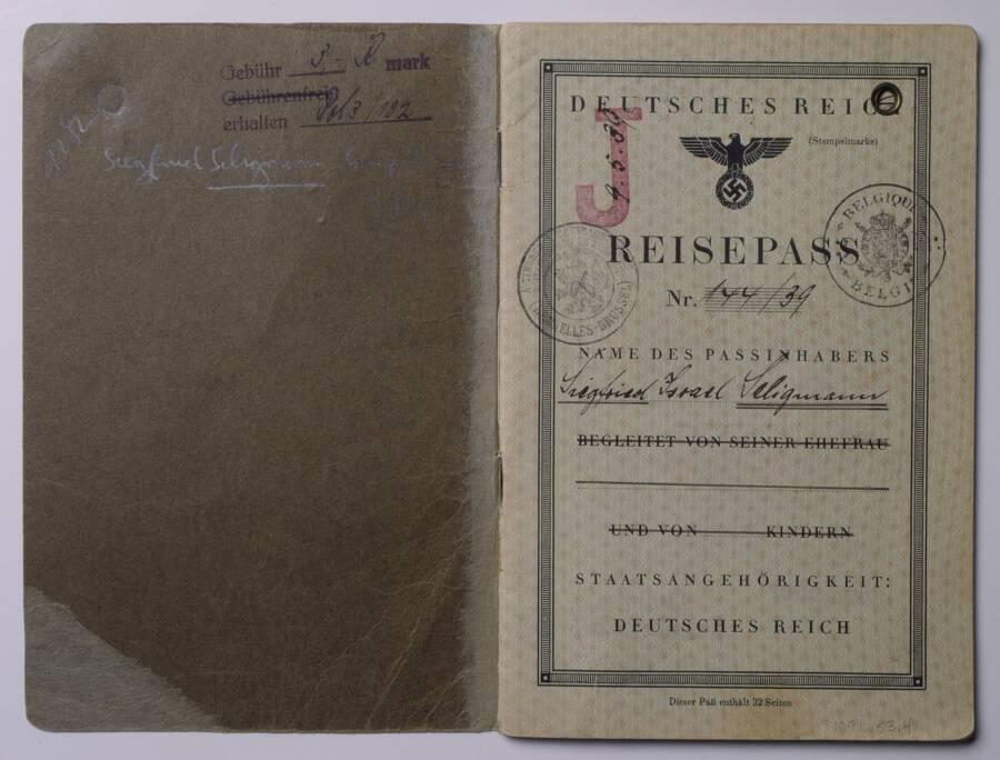 German Passport J