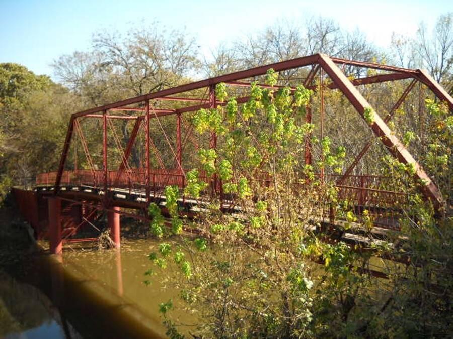 Jembatan Goatmans Di Denton