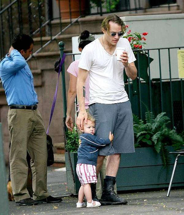 Health Ledger With His Daughter