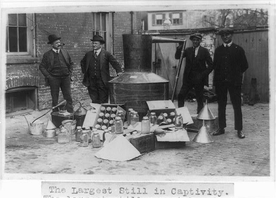 Illegal Alcohol During Prohibition