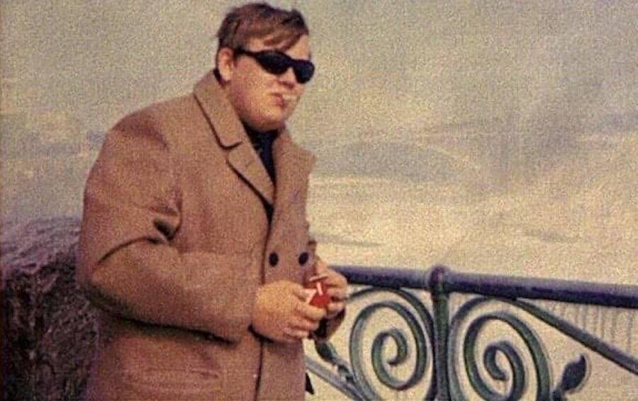 John Candy Smoking