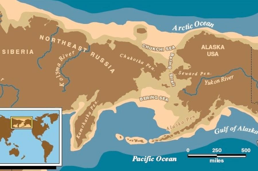 Map Of Beringia