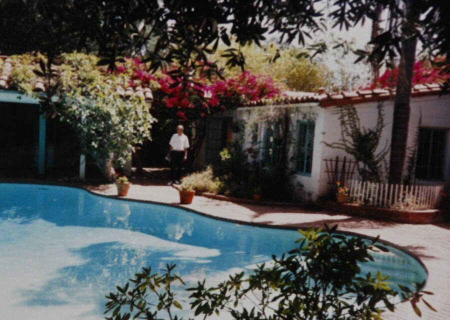 Marilyn Monroe House Backyard
