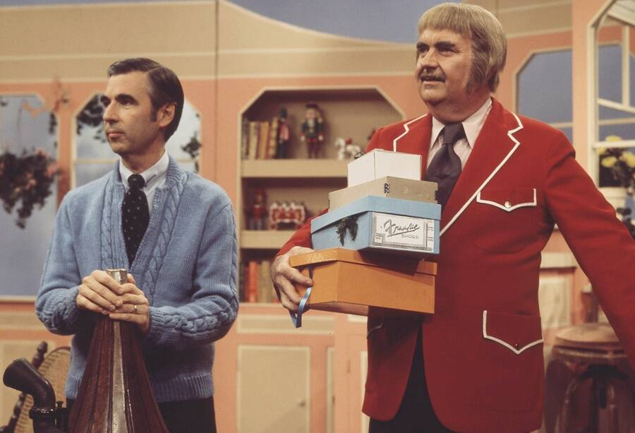 Mister Rogers And Guest