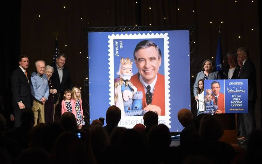 Mister Rogers Stamp Announcement