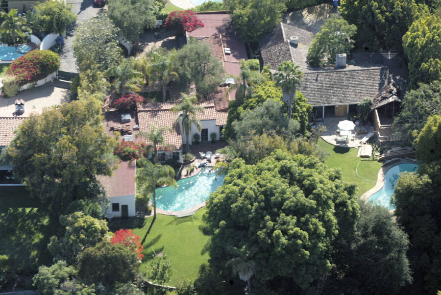 Monroe's House From Above