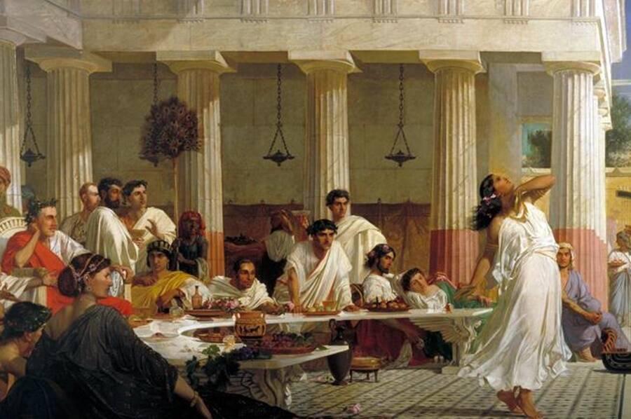 Painting Of Herods Birthday