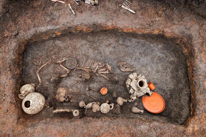 Roman Era Child Grave