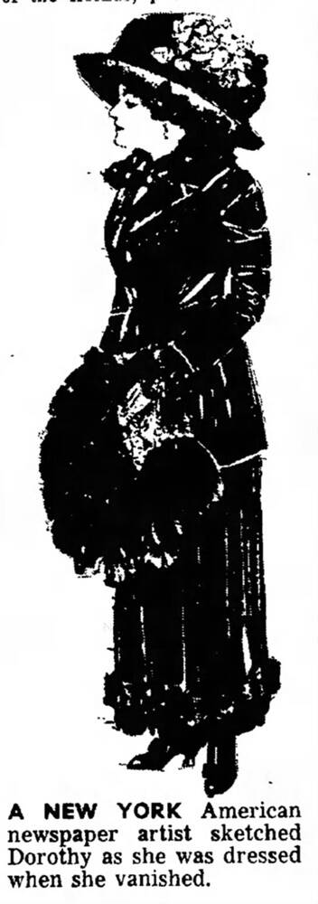 Sketch Of Dorothy Arnold