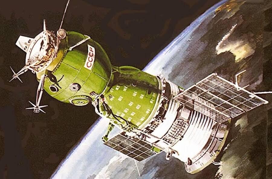 Soyuz I Capsule