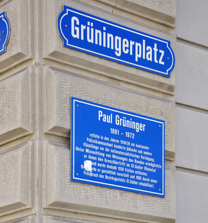 St Gallen Grüningerplatz