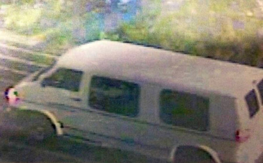 White Van Of Donald Smith