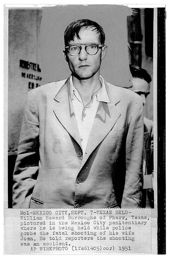 William S Burroughs In Jail