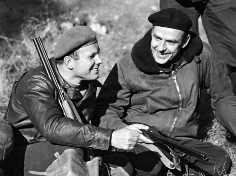 Yuri Gagarin And Vladimir Komarov