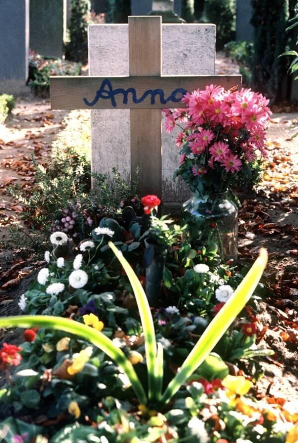 Anna Bachmeier's Grave