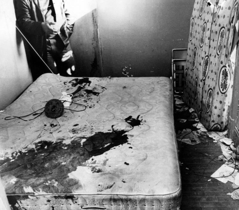 Bloody Mattress Of Fred Hampton