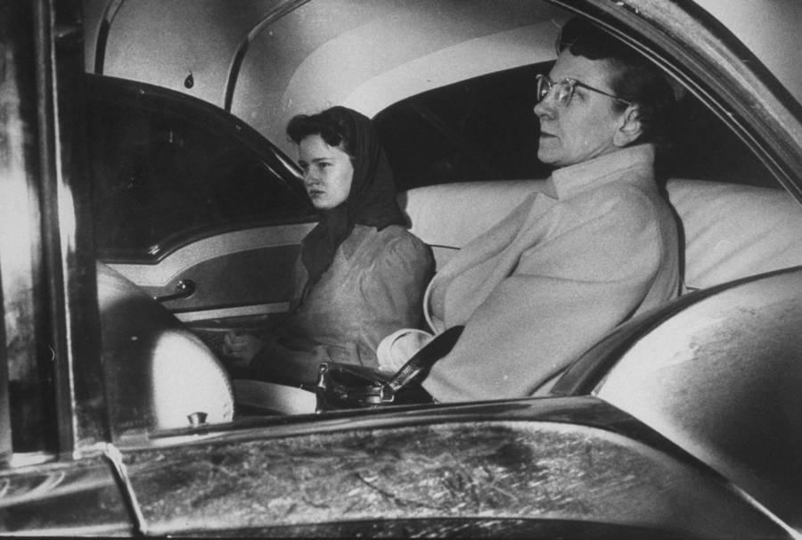 Caril Ann Fugate Inside A Car