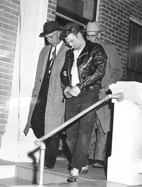 Charles Starkweather With Police