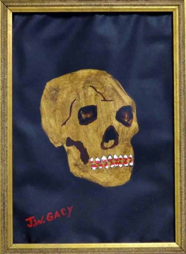 John Wayne Gacy Paintings Of Skulls
