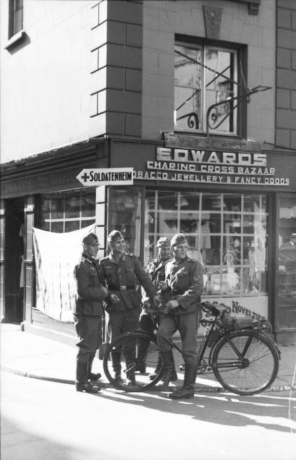 German Soldiers On Jersey