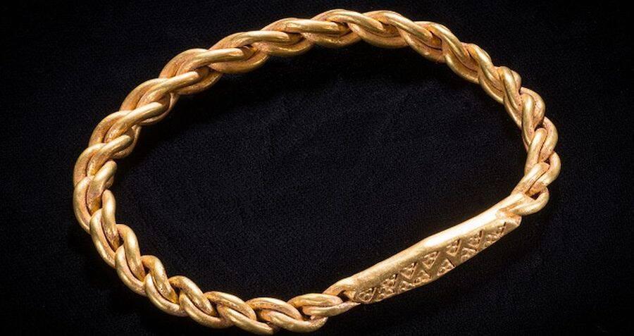 Amateur Metal Detectorist In England Finds 1,000-Year-Old Hoard Of Viking Treasure