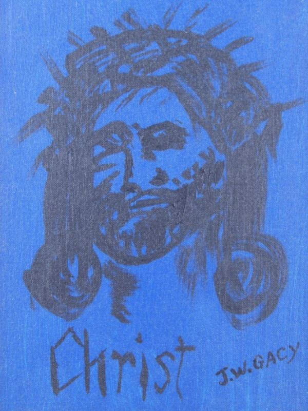 John Wayne Gacy Painting Of Christ