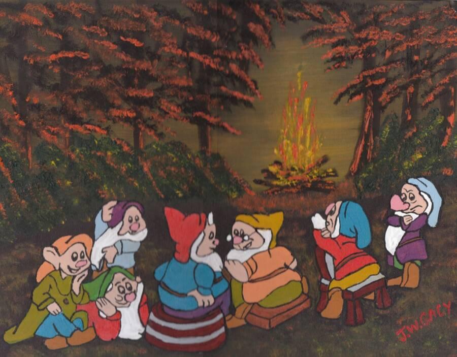 John Wayne Gacy Painting Of Dwarfs