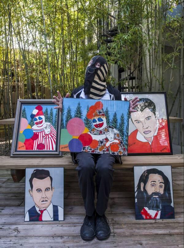 John Wayne Gacy Paintings
