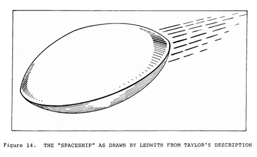 Kelly UFO Illustration