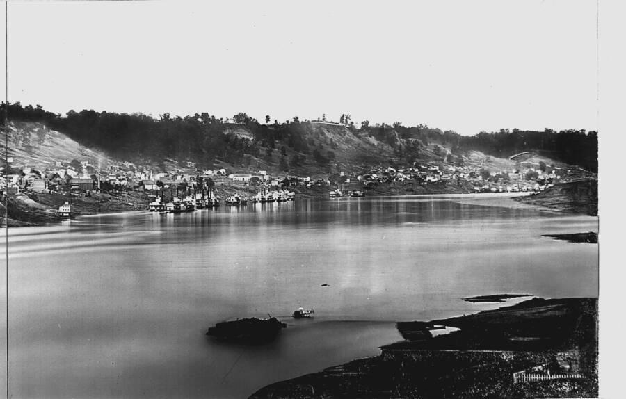 Ohio River Where Henrietta Wood Was Captured