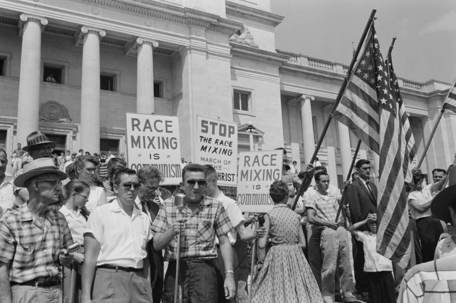 Anti Civil Rights Protesters