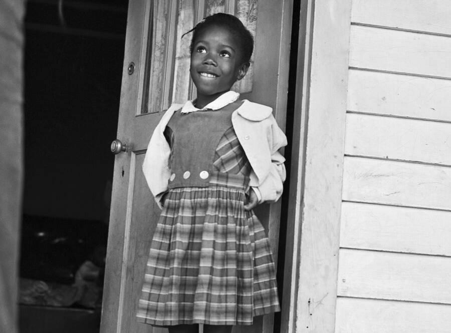 Ruby Bridges At Age Six