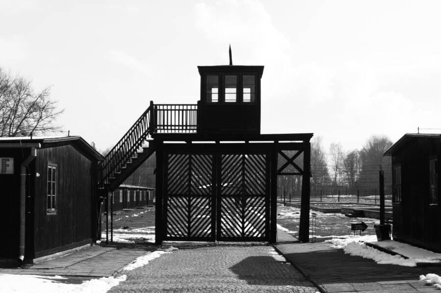 Stutthof Camp Entrance