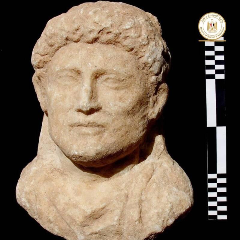 Taposiris Magna Statue