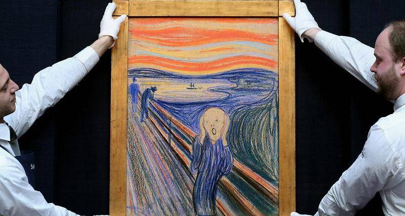 For 117 Years, There's Been A Hidden Message Inscribed Into 'The Scream.' Now We Know Who Wrote It