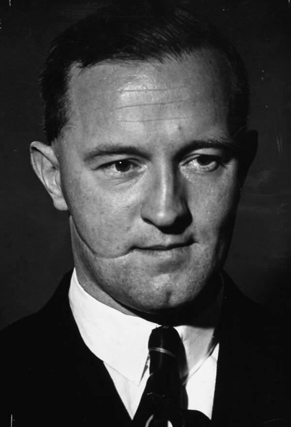 William Joyce With Glasgow Smile