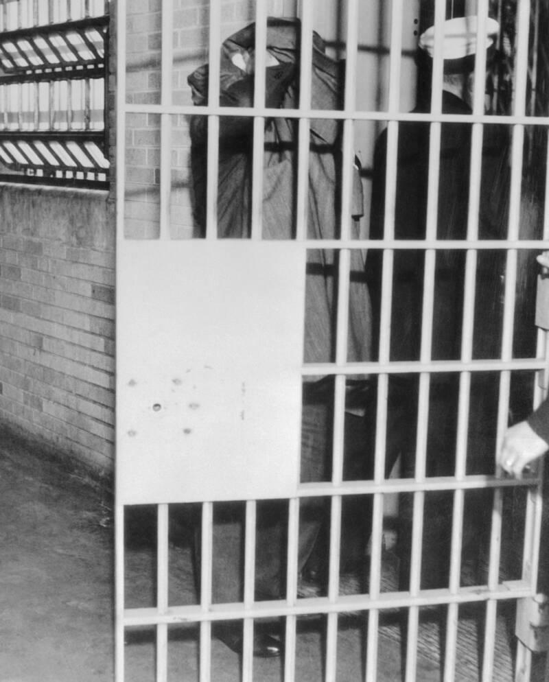 Al Capone In Prison