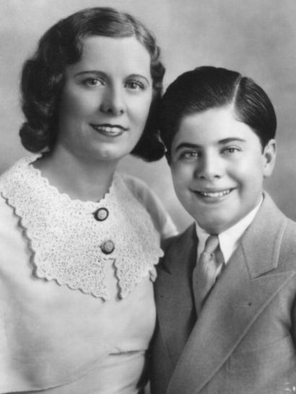 Albert Francis Capone And Mother