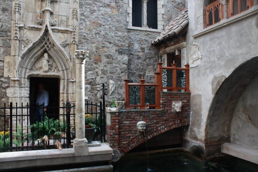 Atrium View Hammond Castle