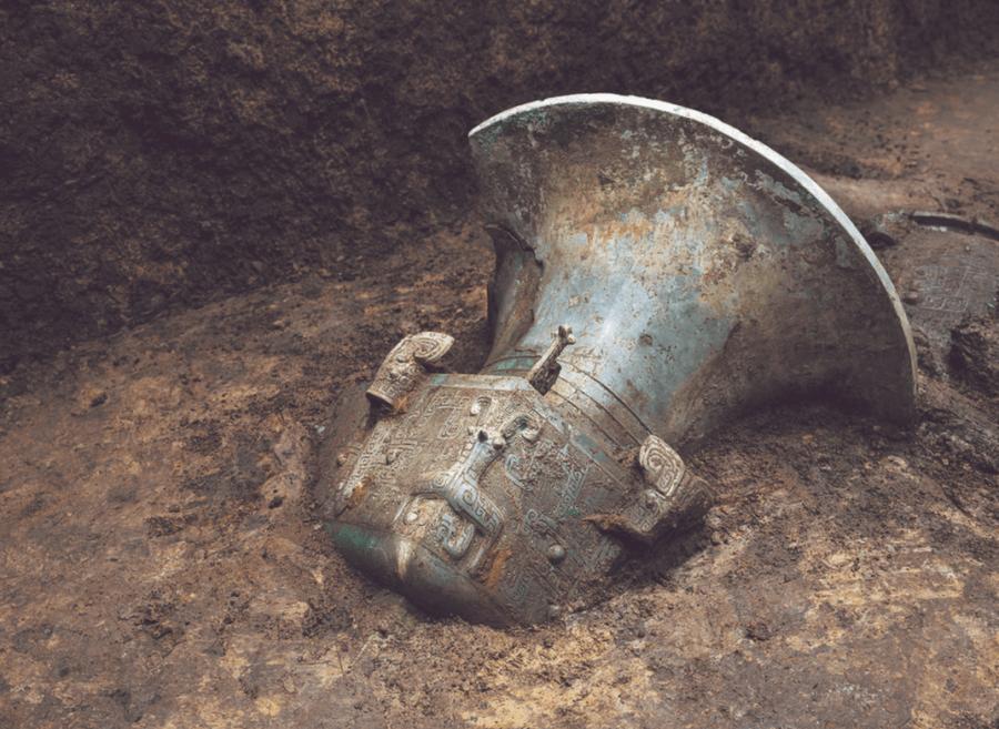 Bronzeware At Sanxingdui