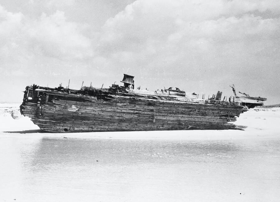 Carroll A Deering Wreck