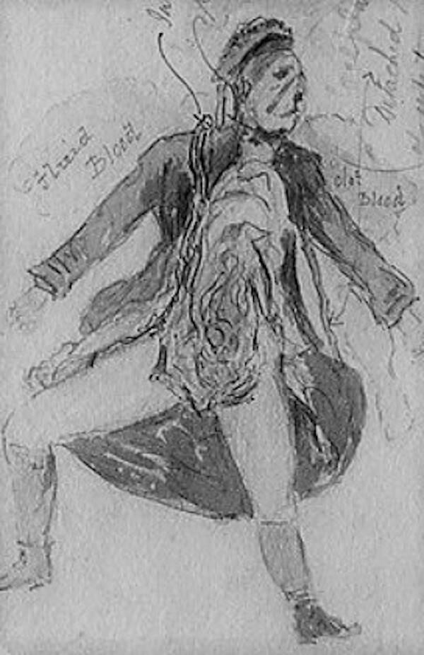 Catherine Eddowes Illustration