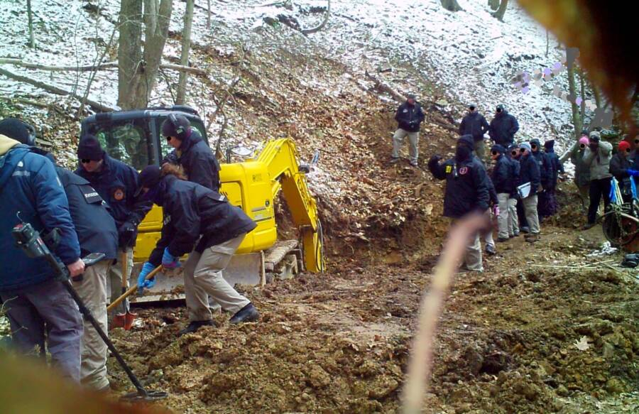 Dents Run Fbi Excavation