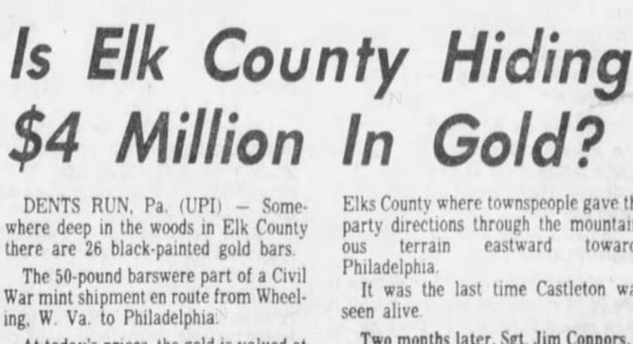 Elk County Gold Clipping