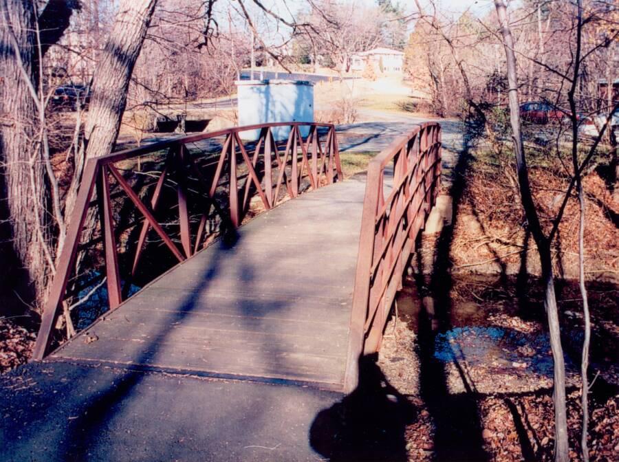 Ominous Footbridge