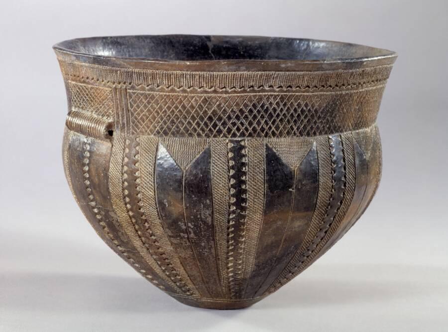 Funnel Beaker Pottery